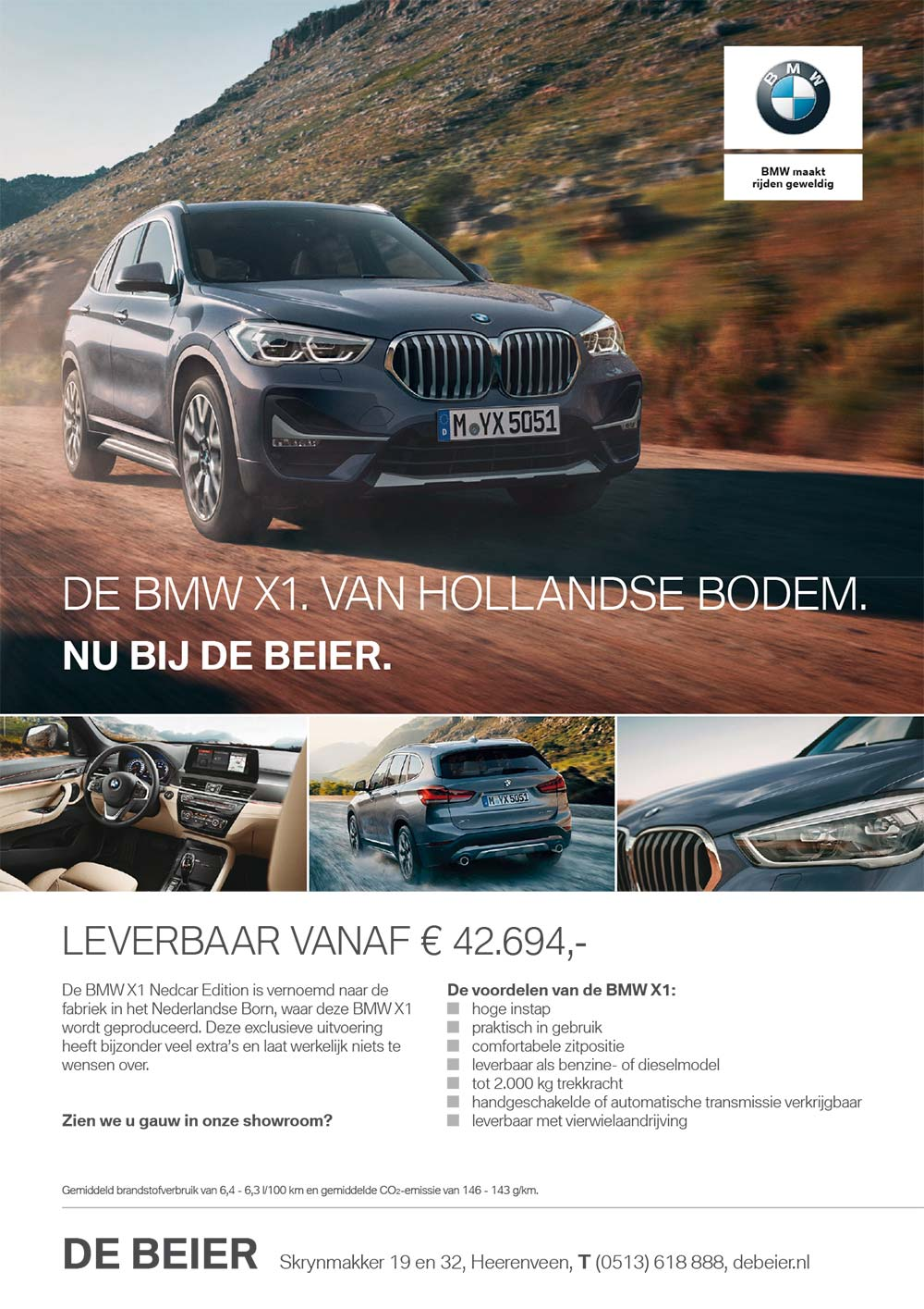 Advertentie bmw 8 X1