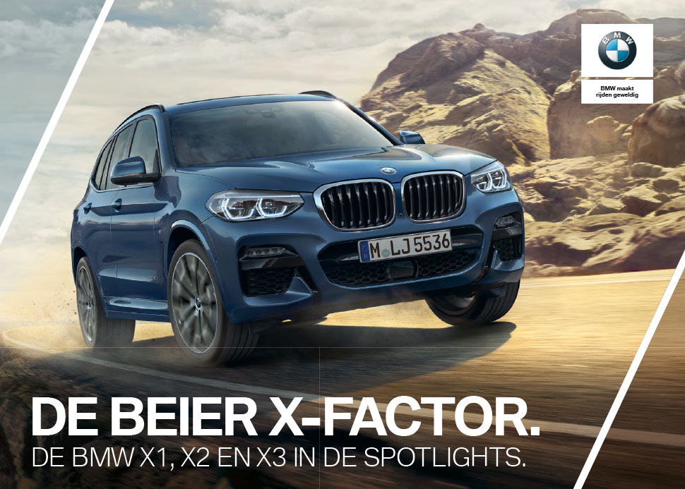 advertentie de Beier X Factor