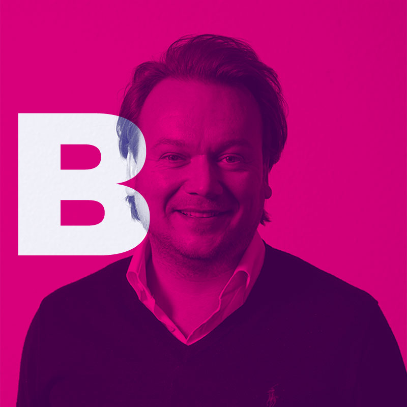 Account Director Bas van de Schalie